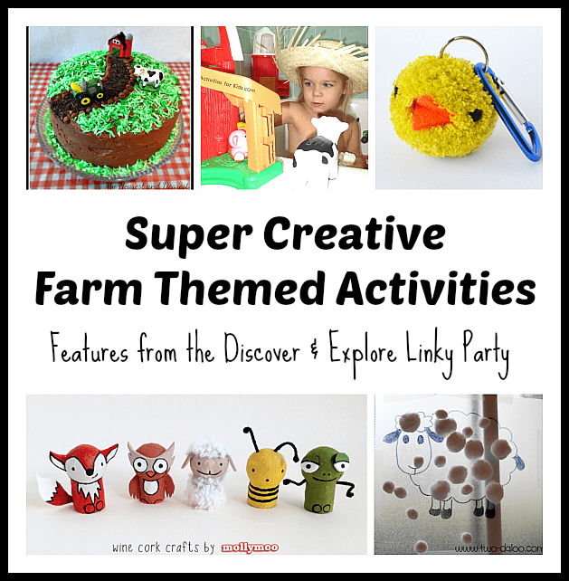 Super Creative Farm Themed Activities~ Buggy and Buddy