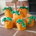Cardboard Tube Pumpkin Craft for Kids