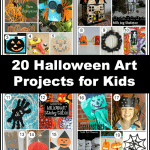 20 Halloween Art Projects for Kids to Make