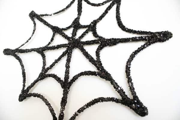 Glittery Spiderweb