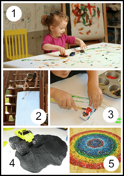 Toys And Games For Preschool : Toy car activities for toddlers and preschoolers
