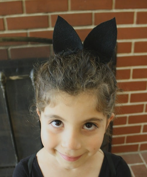 Felt Bat Ear Headband