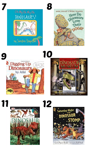 Dinosaur Themed Children's Books