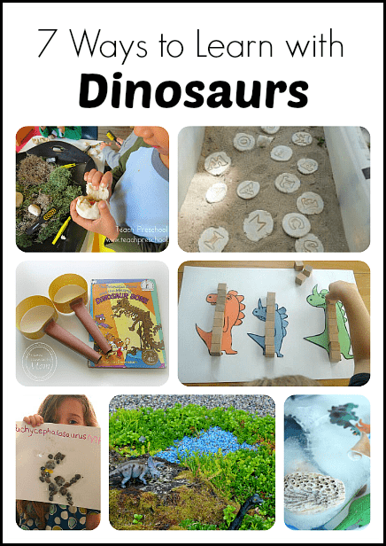 7 Ways to Learn with Dinosaurs