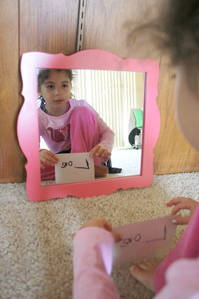 Science Experiments for Kids: Reflections in Mirrors~ Buggy and Buddy