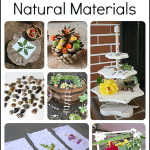 8 Simple Ways for Children to Create with Natural Materials {Discover & Explore}
