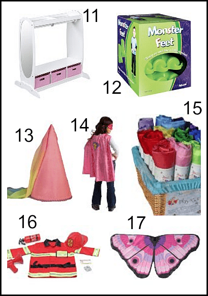 Great Toys for Dress Up Play