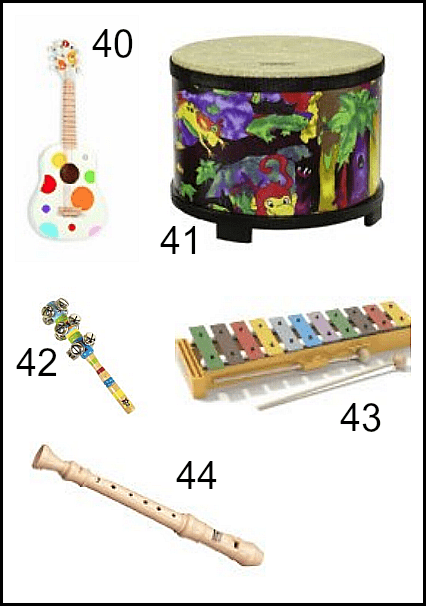 Musical Toys to Inspire Creative Play
