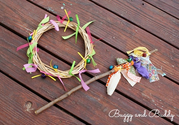 Homemade Toys: Jingle Bell Sticks and Rings~ Buggy and Buddy