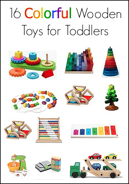 Gift ideas for toddlers 16 colorful toys made from wood buggy be sure to check out all our gift ideas for kids youll find all kinds of ideas for birthday or holiday gifts negle Choice Image