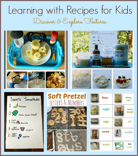 Learning with Recipes for Kids