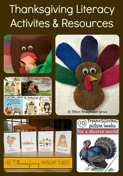 Thanksgiving Literacy Activities & Resources for Kids