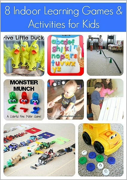 8 Indoor Learning Games & Activities for Kids