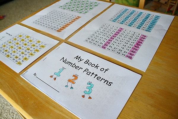 Finding Number Patterns in a Hundred Chart~ Buggy and Buddy