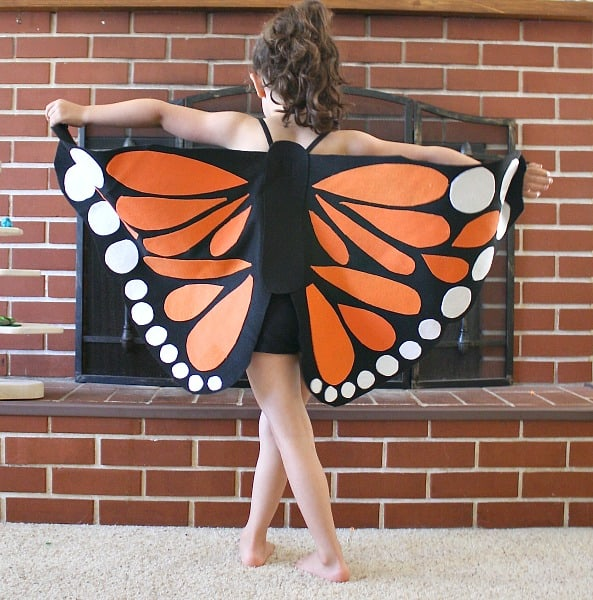 Felt Butterfly Wings Tutorial~ Buggy and Buddy