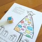 Christmas Games for Kids: Color the Christmas Ornaments (Free Printable)