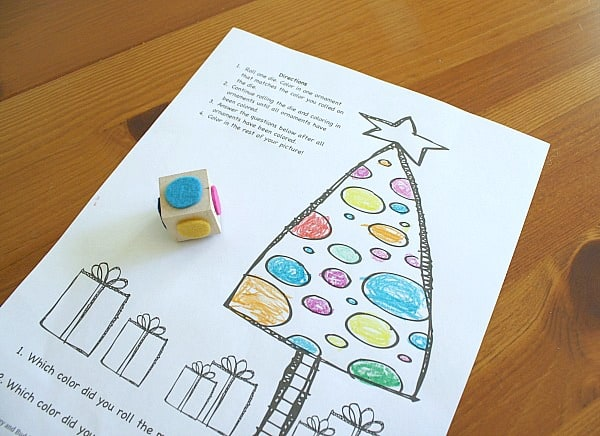 Colorful Christmas Ornaments Drawings.Christmas Game For Kids Color The Christmas Ornaments