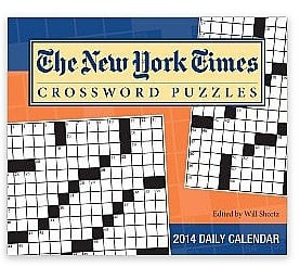 The New York Times Crossword Puzzles Calendar
