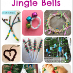 14 Easy Crafts for Kids Using Jingle Bells