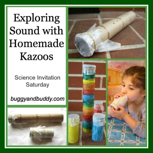 Making a Homemade Kazoo: Science for Kids~ Buggy and Buddy