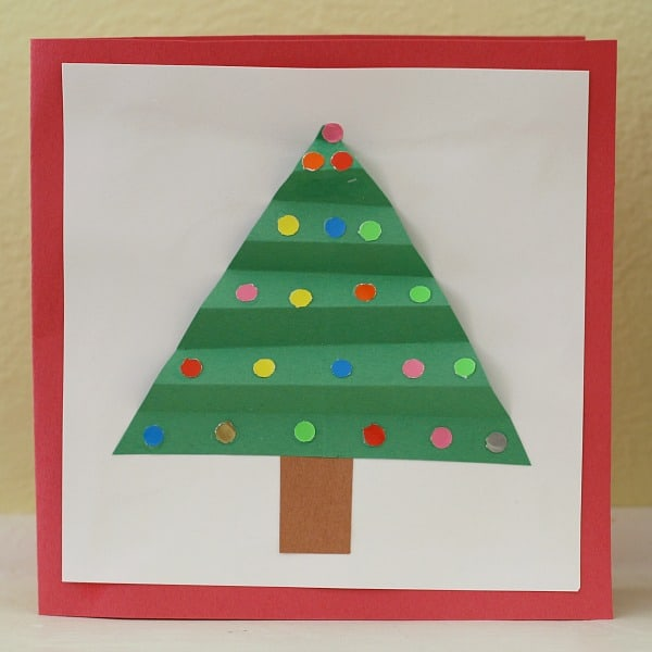 homemade christmas card ideas for kids to make