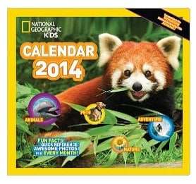 National Geographic Calendar for Kids