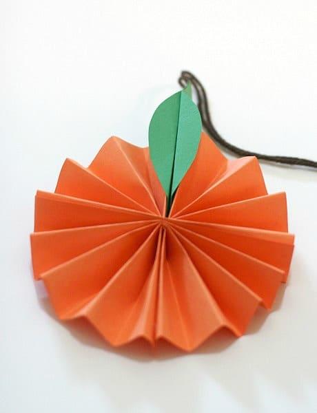 Hanging Citrus Fruit Paper Craft for Kids~ BuggyandBuddy.com