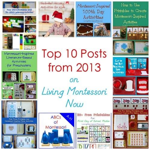 Top Ten Posts from Living Montessori 2013