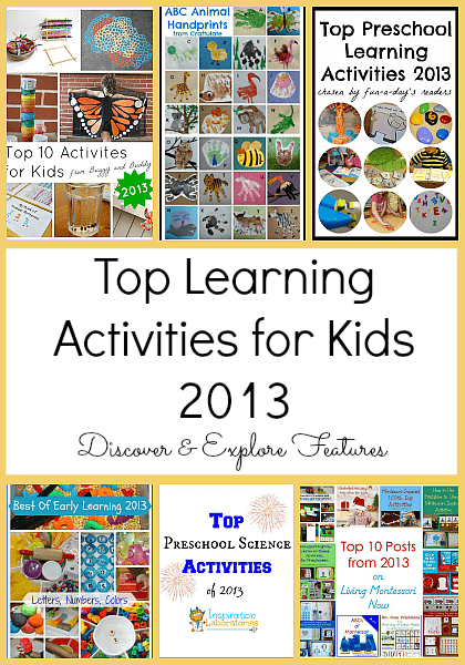 Top Learning Activities for Kids~ Discover & Explore Features