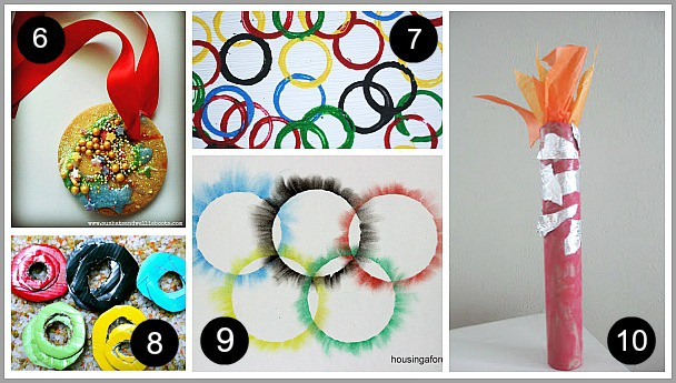 10 Awesome Olympic Themed Activities And Crafts For Kids Buggy And