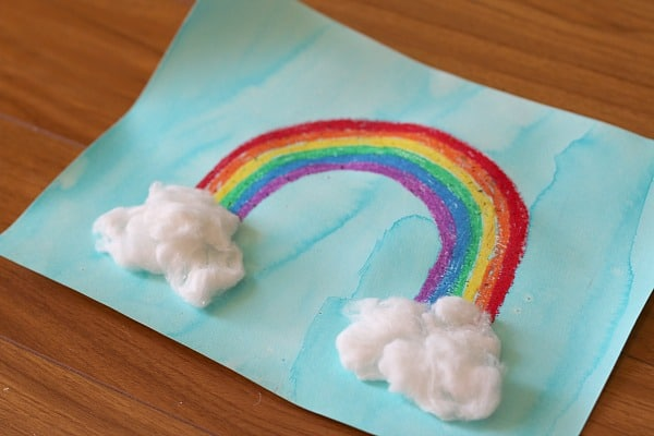 Rainbow Art for Kids- Buggy and Buddy