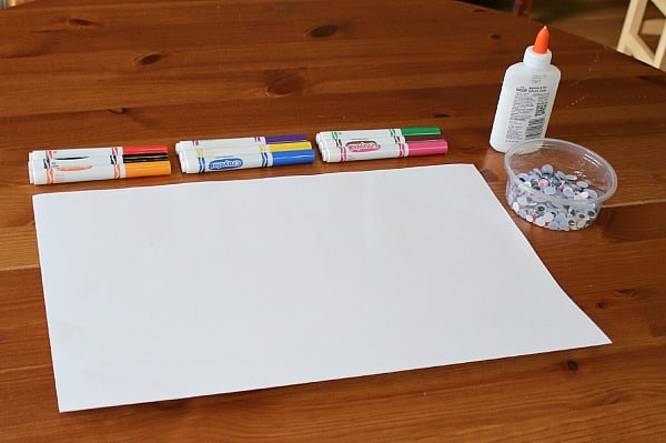 Simple Invitation to Create with Googly Eyes and Markers