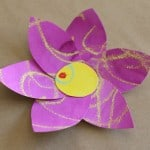 Spring Crafts for Kids: Colorful Watercolor Resist Flowers