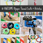 10 Awesome Olympic Themed Activities and Crafts for Kids