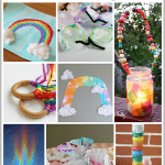 7 of Our Favorite Rainbow Crafts and Rainbow Learning Activities