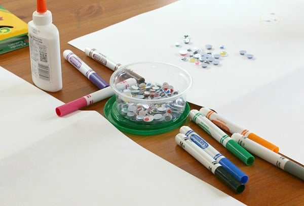 supplies being used for project