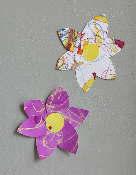 Art for Kids: Colorful Watercolor Flowers