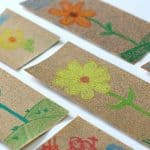 Sandpaper and Crayon Art for Kids