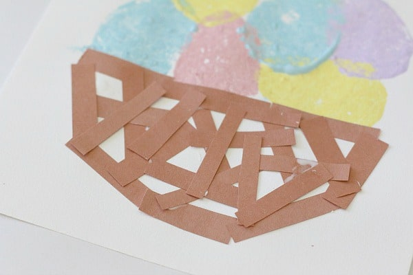 Brown Construction Paper Easter Basket