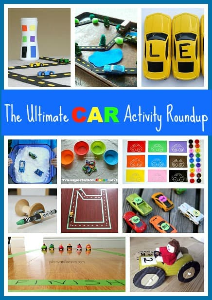 The Ultimate Toy Car Activity Roundup