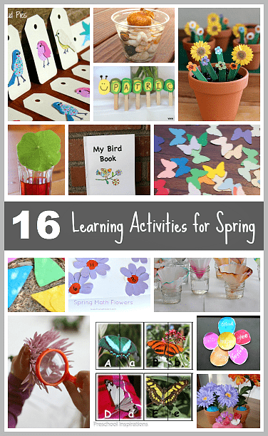 16 Spring Themed Learning Activities For Kids Buggy And Buddy