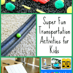 Fun Transportation Activities for Kids {Discover & Explore}