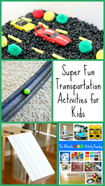 Fun Transportation Activities for Kids