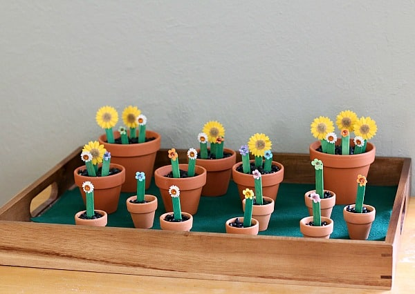 Practicing the ABC's with an Alphabet Flower Garden Activity~ Buggy and Buddy