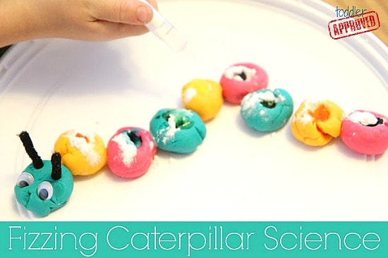 Fizzing Caterpillar Science