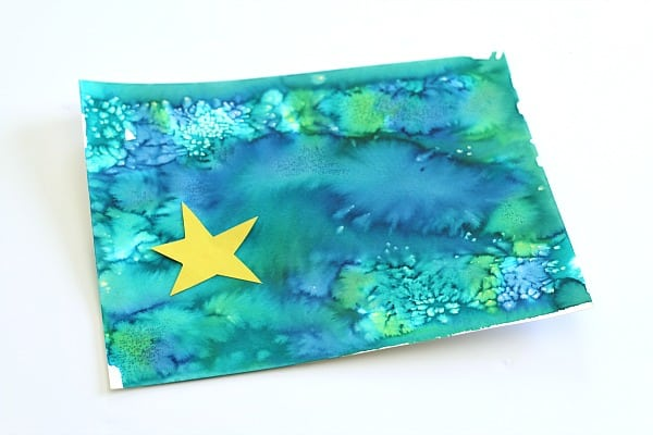 Art Activity for Kids to Go with the Story How to Catch a Star