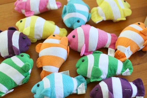 Stuffed Fish Party Favors