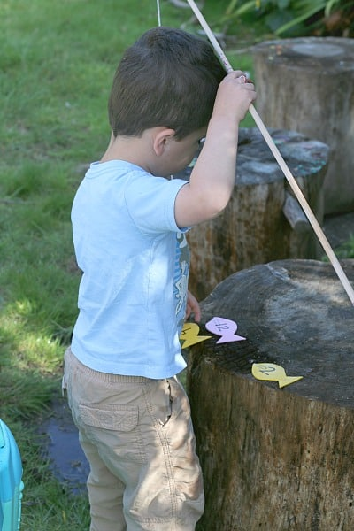fishing for numbers game for kids