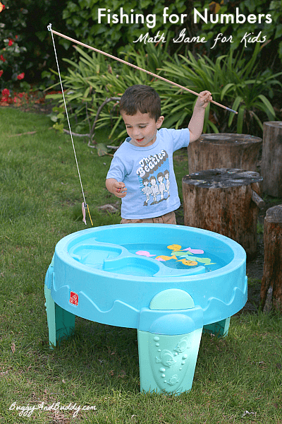 Fun Math Game for Kids! Fishing for Numbers~ Buggy and Buddy
