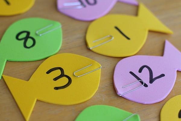 Fishing Math Game for Kids